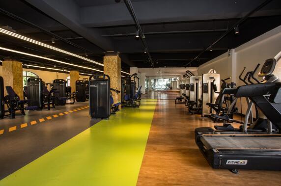 上海健身房案例