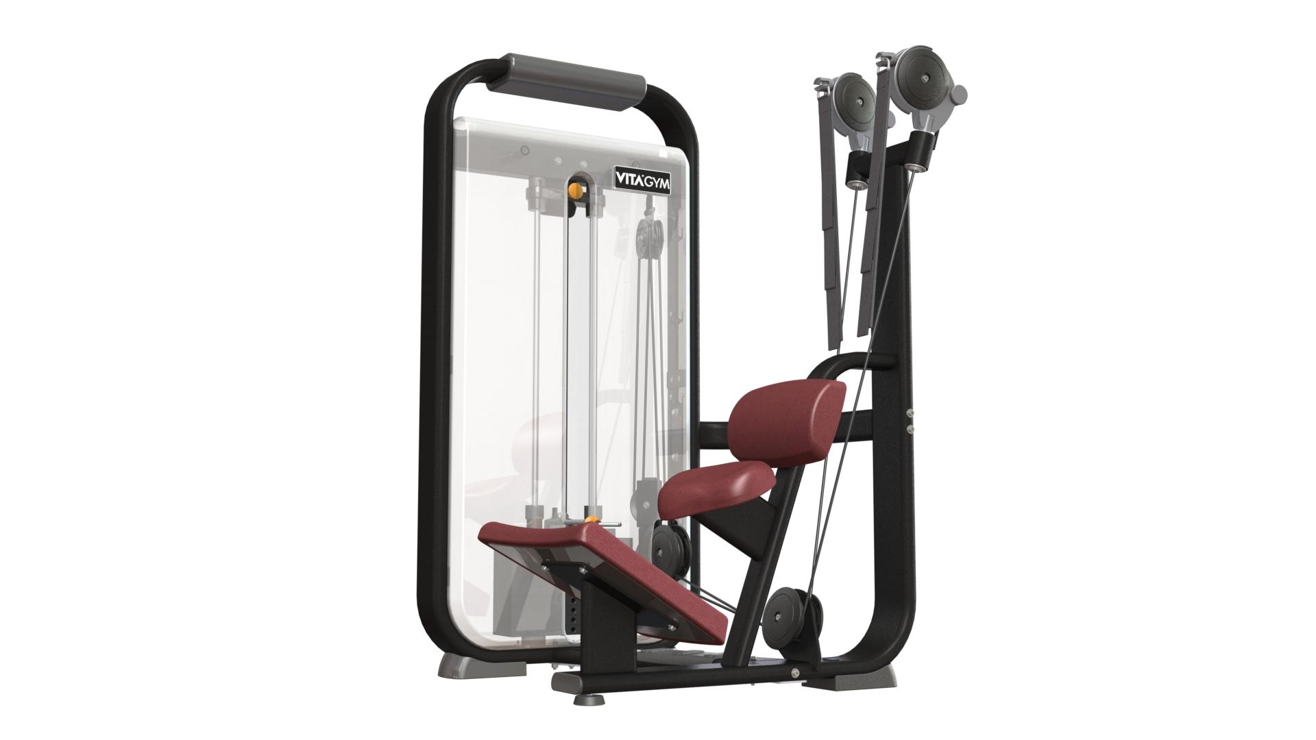坐式腹肌训练机