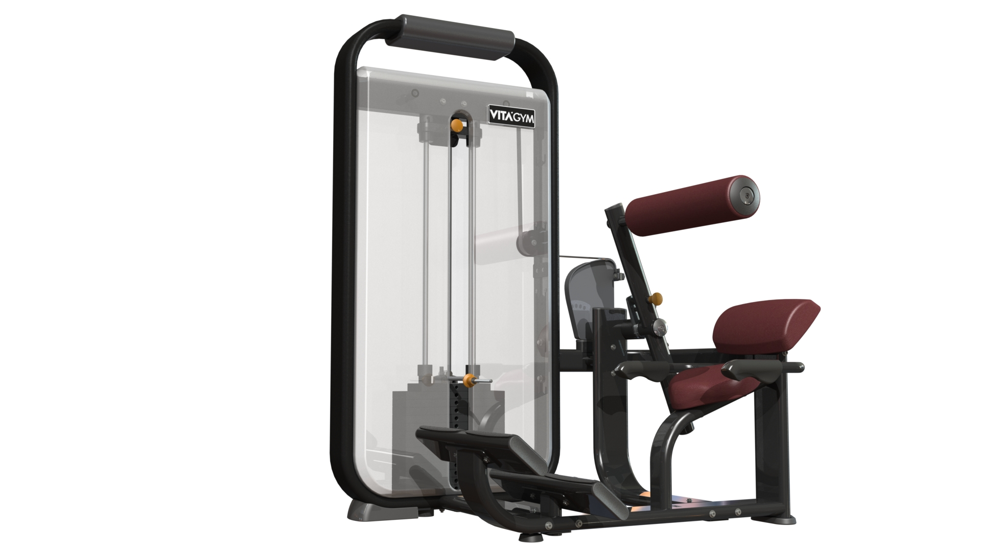 坐式背腹肌训练机