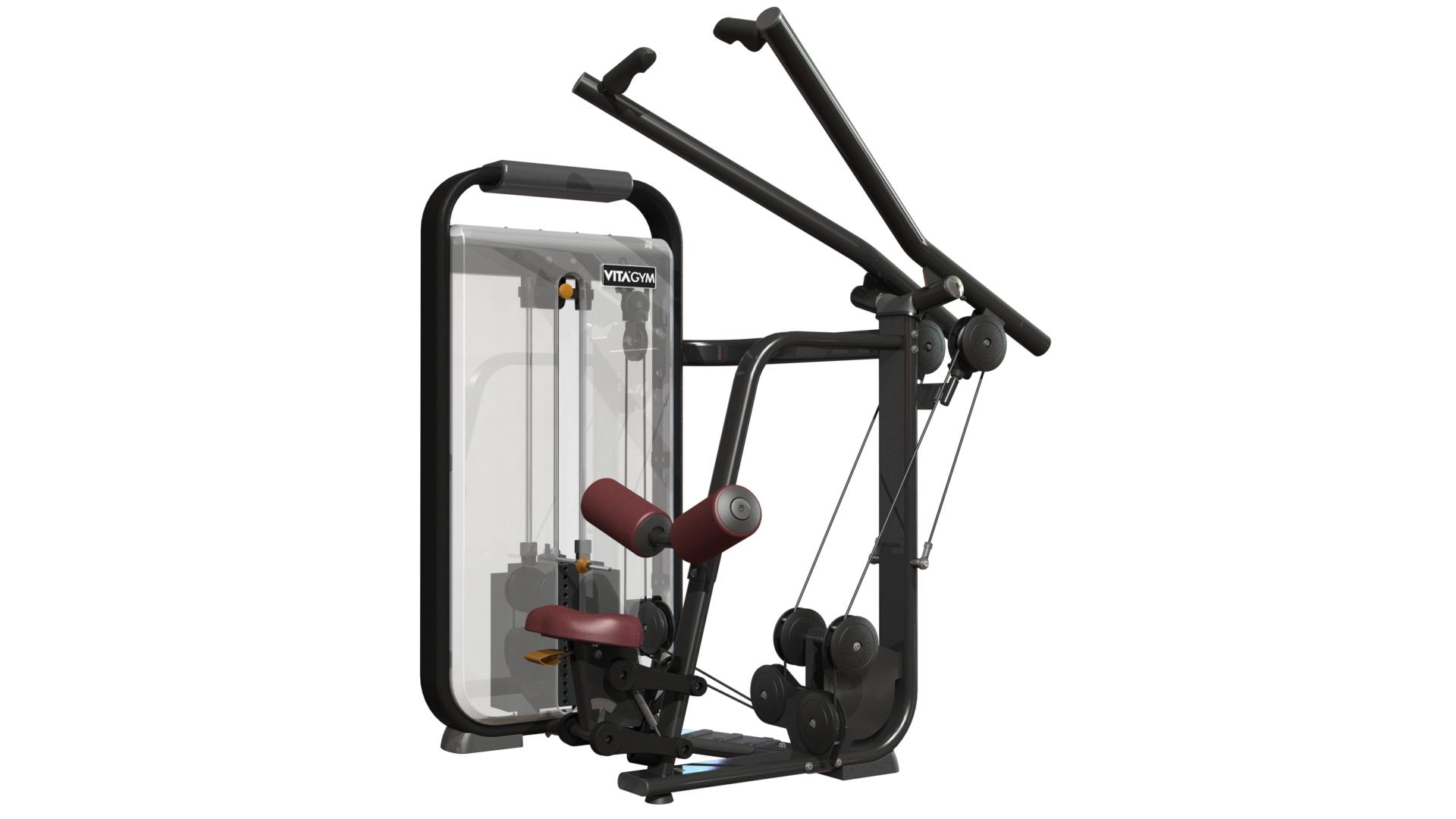坐式高拉训练机